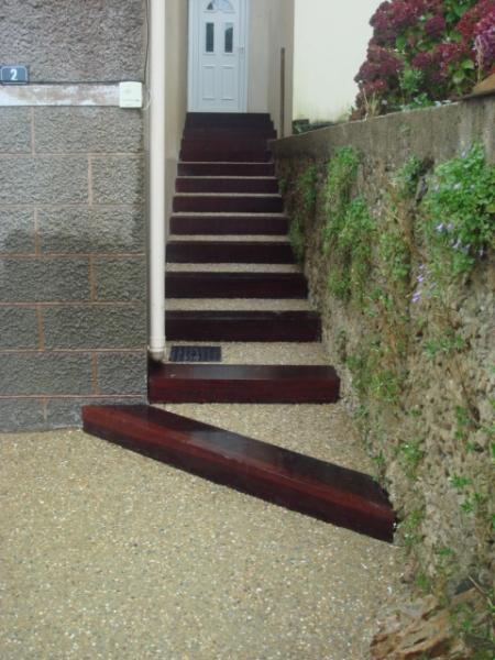 Fabriquer escalier exterieur bois for Escalier bois exterieur